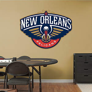 New Orleans Pelicans Logo Fathead Wall Decal